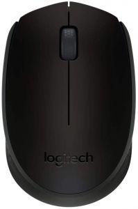 Mouse optic, wireless, negru, 3 butoane si 1 scroll, B170 Logitech