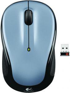 Mouse optic, wireless, 3 butoane si 1 scroll, gri deschis, M325 Logitech