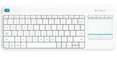 Tastatura fara fir, alb, Touch Keyboard K400 Plus Logitech