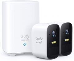 Kit supraveghere video eufyCam 2C Security wireless cu 2 camere video, HD 1080p, IP67, Anker Eufy
