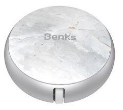 Cablu de date retractabil, USB / Lightning, 0,9m, argintiu, D28 Benks