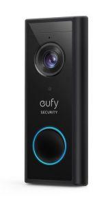 Sonerie video, Wireless, 2K HD, autonomie 6 luni, negru, Eufy