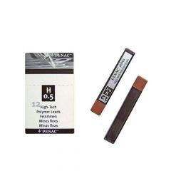 Mine creion mecanic 0,5mm, H, Penac