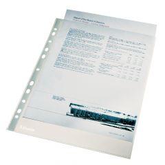 File de protectie A4, cristal, 40 mic, Esselte