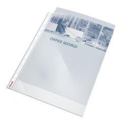 File de protectie A4, cristal, 55 mic, 10buc/set, Esselte