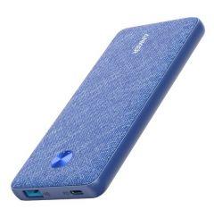 Baterie externa, 10000mAh, conectivitate USB si USB-C, albastru, Anker PowerCore III