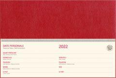 Agenda saptamanala 2022, rosu, Bref CH11 EGO