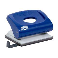 Perforator metal/plastic albastru 20coli STD P-817