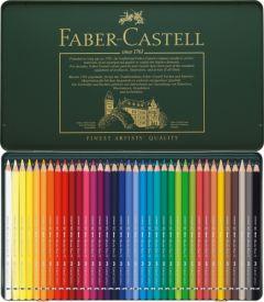 Creioane colorate acuarela, in cutie metal, 36culori/set, A.Durer, Faber Castell-FC117536