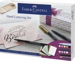 Set caligrafic, Pitt Artist Pen Caligrafic Starter Faber Castell