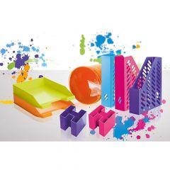 Suport accesorii birou, galben, Bravo Trend-Colours Han