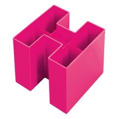 Suport accesorii birou, roz, Bravo Trend-Colours Han