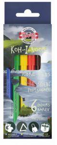 Carioca 6 culori/set, Dino Koh-I-Noor