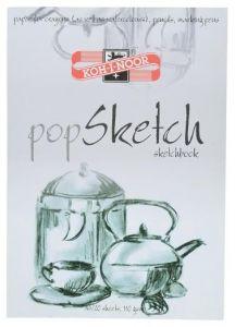 Bloc desen A4, 20file, 110g/mp, Pop Sketch Koh-I-Noor