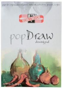 Bloc desen A4, 30file, 180g/mp, Pop Draw Koh-I-Noor