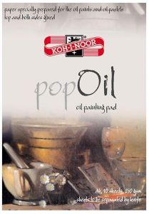 Bloc desen A4, 10file, 250g/mp, Pop Oil Koh-I-Noor