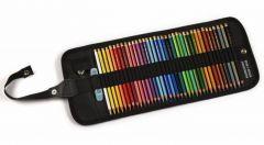 Creioane colorate 36culori/set + ascutitoare + 1 guma, rollup, Polycolor Koh-I-Noor