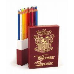 Creioane colorate 24culori/set, Retro Polycolor Koh-I-Noor
