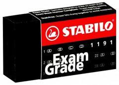 Guma cauciuc sintetic, neagra, dust free, Exam Grade 1191 Stabilo