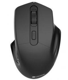 Mouse optic, wireless, 3 butoane si 1 scroll, negru, CNE-CMSW15B, Canyon