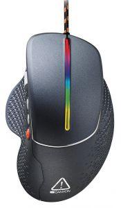 Mouse optic, 6 butoane si 1 scroll, negru, SGM12RGB, Canyon