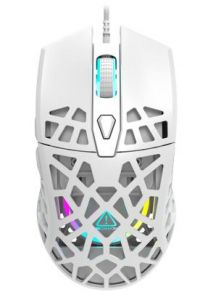 Mouse optic, 7 butoane si 1 scroll, alb, CND-SGM20W, Gaming Puncher GM20 Canyon