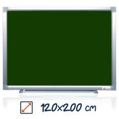 Whiteboard magnetic, 120cm x 200cm, verde, Visual
