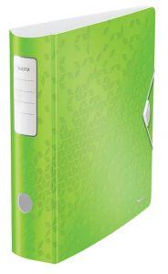 Biblioraft 8,2cm, verde metalizat, 180 grade Active Wow Leitz