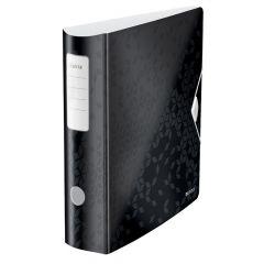 Biblioraft 8,2cm, negru metalizat, 180 grade Active Wow Leitz