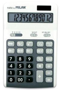 Calculator de birou 12 digit, gri, Milan 150712GBL