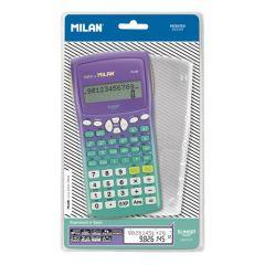 Calculator de birou, stiintific, 10+2dig, sunset turcoaz, Milan 159110
