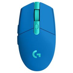 Mouse optic, wireless, albastru, 6 butoane si 1 scroll, G305 Logitech