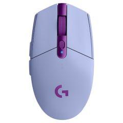 Mouse optic, wireless, liliac, 6 butoane si 1 scroll, G305 Logitech