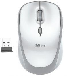 Mouse optic, wireless, alb, 4 butoane si 1 scroll, 23386 Yvi Trust