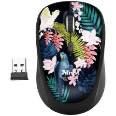 Mouse optic, wireless, 4 butoane si 1 scroll, parrot, 23387 Yvi Trust