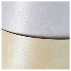 Carton A4, 220g/mp, 20coli/top, alb diamond, Floral