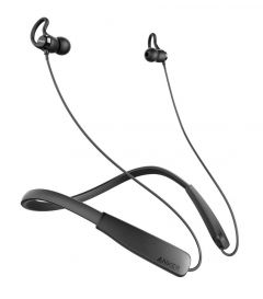 Casti in-ear, negru, bluetooth 4.1, waterproof, Soundbuds Rise Neckband Sport Anker