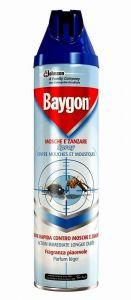 Spray impotriva mustelor si tantarilor, 400ml, Baygon