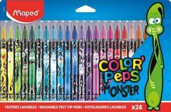 Carioca 24 culori/set Color Peps Monster Maped