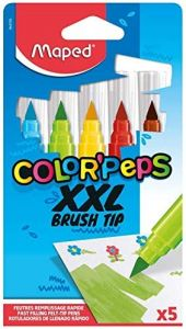Carioca 5 culori/set Color Peps Brush XXL Maped
