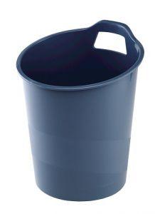 Cos plastic pentru gunoi, albastru, 15L, G2desk Fellowes
