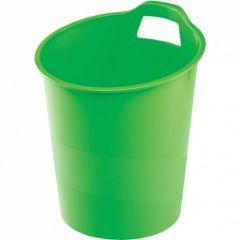 Cos plastic pentru gunoi, verde, 15L, G2desk Fellowes