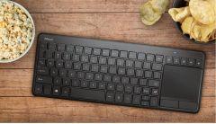 Tastatura fara fir, negru, Vaia cu Touchpad 23382 Trust