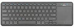 Tastatura fara fir, negru, Mida cu Touchpad XL 22573 Trust