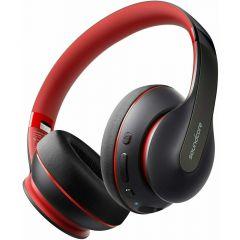 Casti on-ear, negru/rosu, bluetooth 5.0, SoundCore Life Q10 Anker