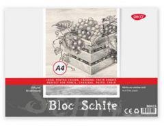 Bloc pt. schite A4, 30file, 150g/mp Daco