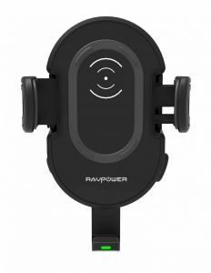 Incarcator auto wireless, 7,5/10W, negru, Fast Charger RAVPower