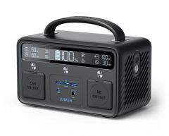 Baterie externa, 108000mAh, conectivitate USB si USB-C, negru, Anker Portable Power Station, PowerHo