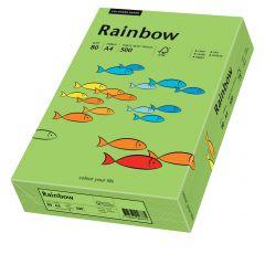 Hartie copiator A4, 80g, colorata in masa verde, Rainbow 76