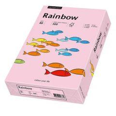 Hartie copiator A3, 80g, colorata in masa roz pal, Rainbow 54